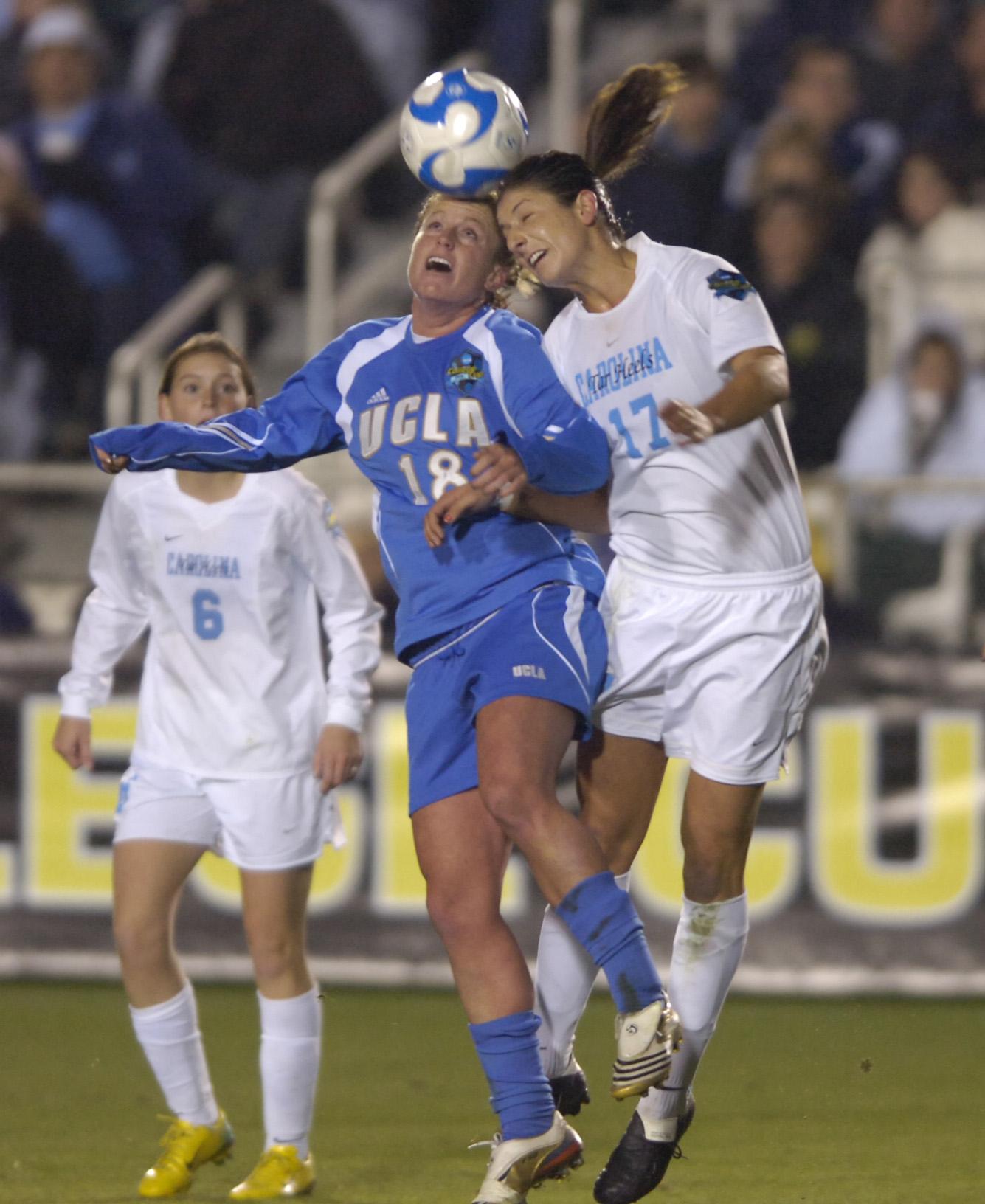 University of North Carolina Women's Soccer v UCLA First Half National Semi-Final Wake Med Soccer Park Cary, NC Friday, November 5, 2008