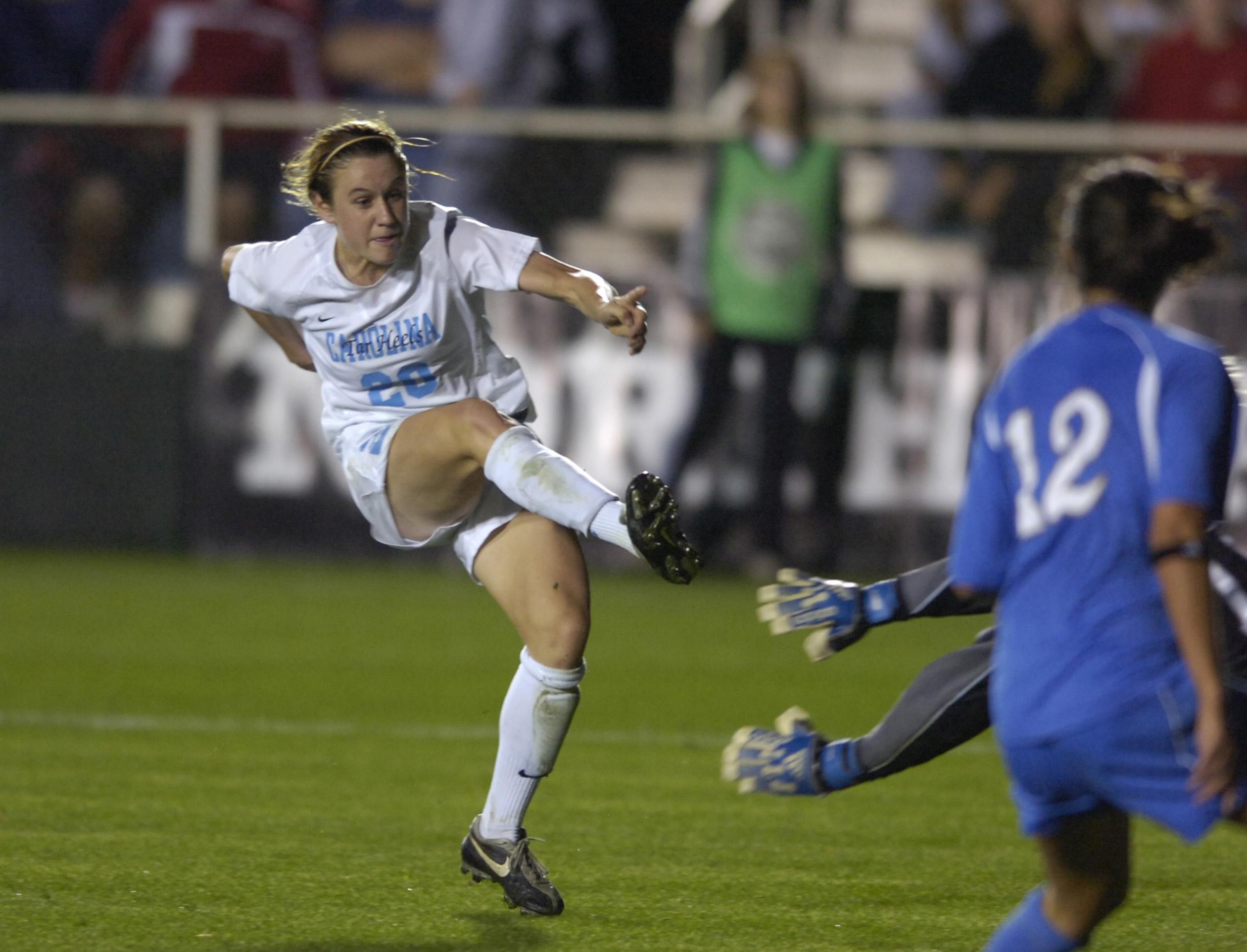 UNC v UCLA Women's Soccer North Carolina won 2-0 NCAA National Semi-Finals SAS Soccer Park Cary, NC December 1, 2006